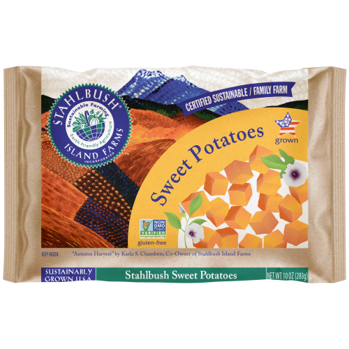 Sweet Potato 10 oz bag square