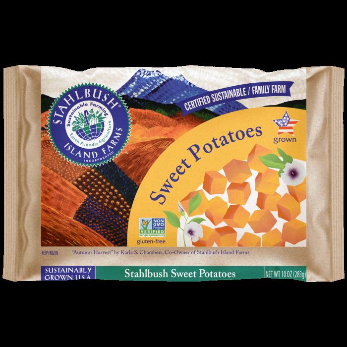 Sweet Potato 10 oz bag square