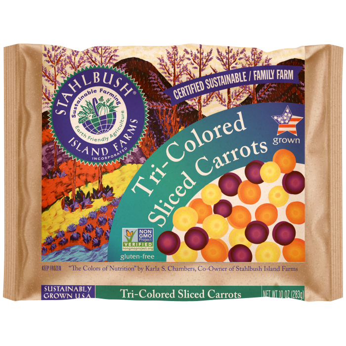 Tri Colored Carrots 10 oz.